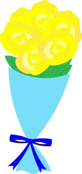 黄色いバラの花束 父の日
