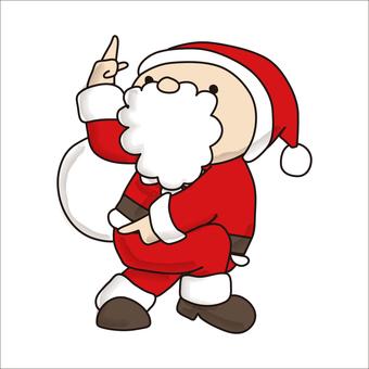 Pointing Santa 1