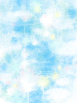 Blue pale background