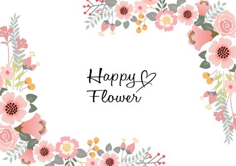 กรอบตกแต่งดอกไม้ 4