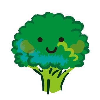 The broccoli