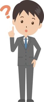 Male | salaryman | suit | Hatena