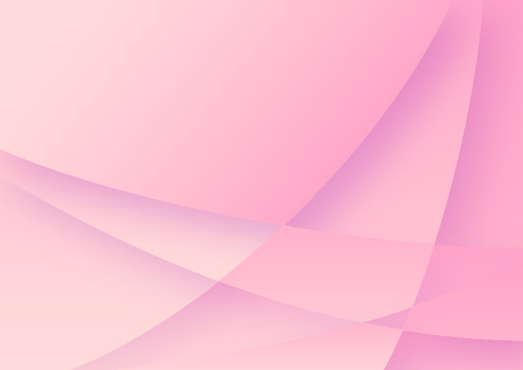 Pink curved star pattern abstract background material