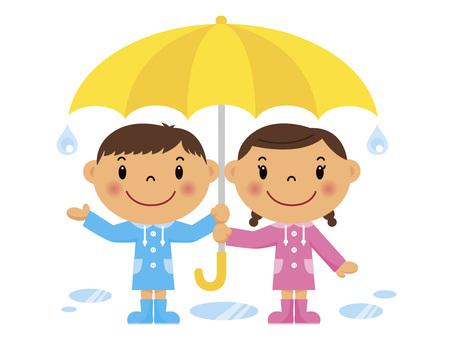 雨も楽しい!