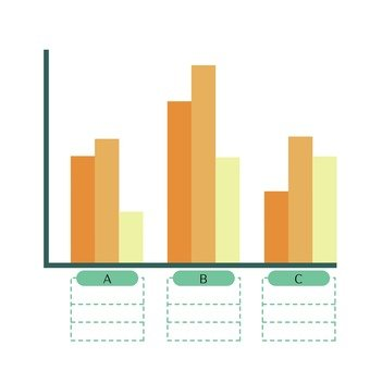 Vertical bar chart 12