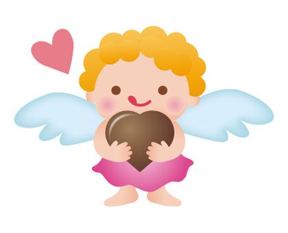 Angel - Heart Chocolate