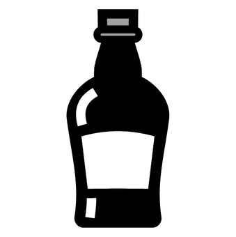 Liquor icon Whiskey bottle bottle