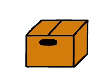 Cardboard hole available