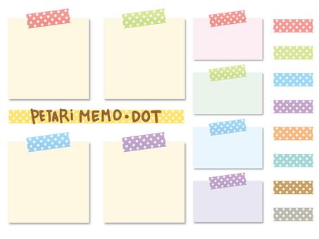 Simple peta memo _ dot