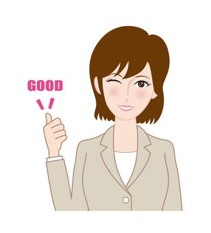 Female member A-GOOD