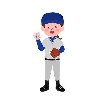 Baseball girl 2