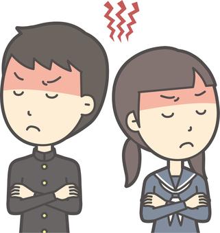 中学生男女セット-067-バスト