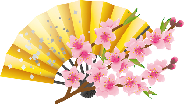 Cut _ peach blossom 1