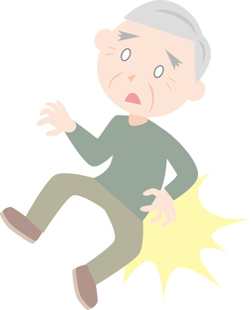 Grandfather (falling)