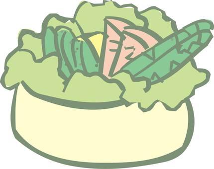 蔬菜,沙拉
