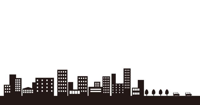 201704 도시 실루엣