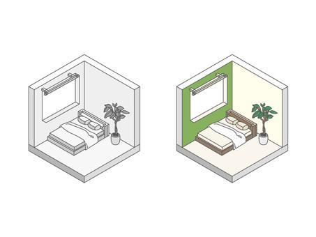 Building / House / Bedroom