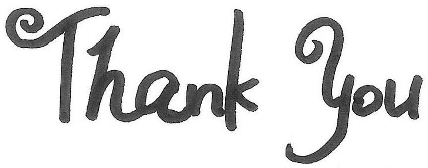 thank you Thank You Logo