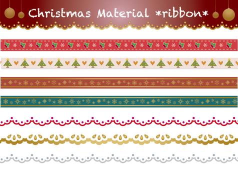 圣诞节材料丝带