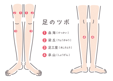 List of foot (leg) points 01