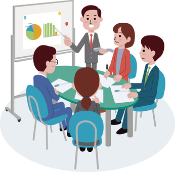 Meeting scene