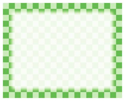 Check frame - green
