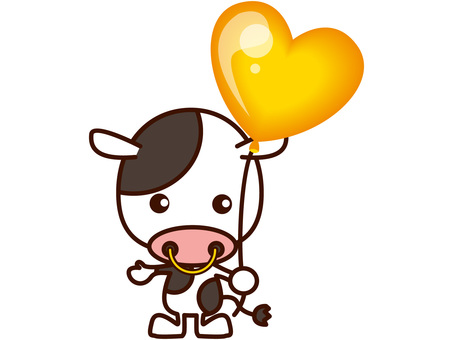 소와 풍선