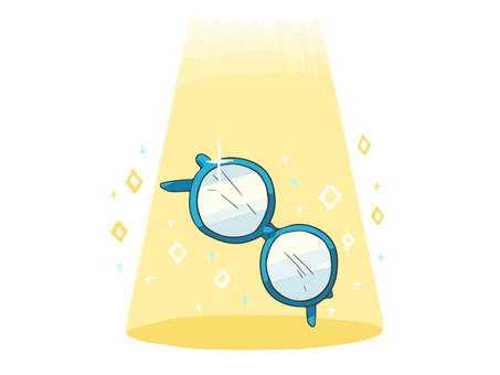Spotlight glasses