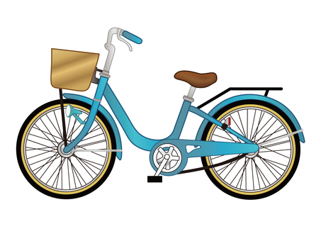 Bicycle _ light blue