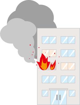 Building fire (building)