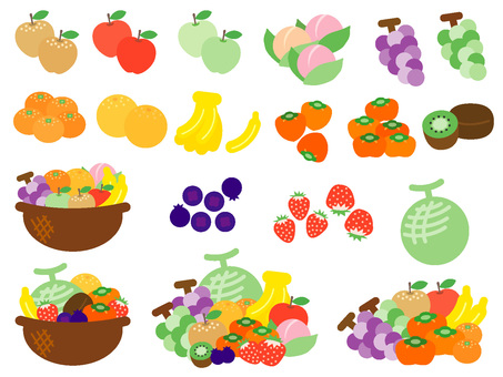 Various fruit set