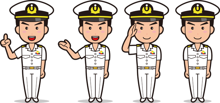 Self-Defense Force 1 (Maritime Self-Defense Forces, summer clothes)