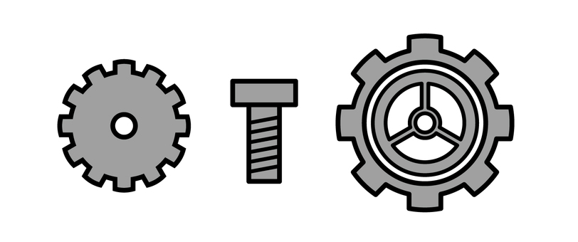 Gears and screws