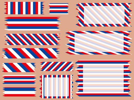 Tricolor tape