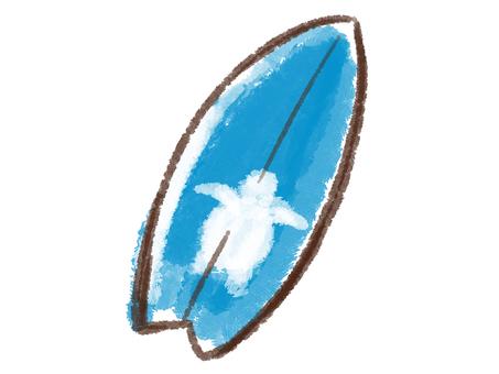 크레용 시리즈 [서핑]