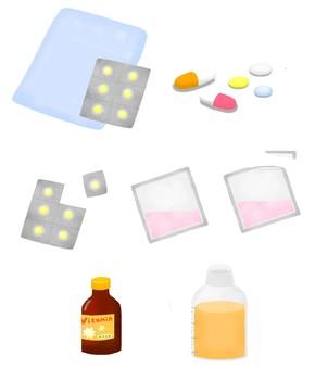 Various medicines
