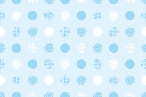 Pattern 77 Endless dot Blue