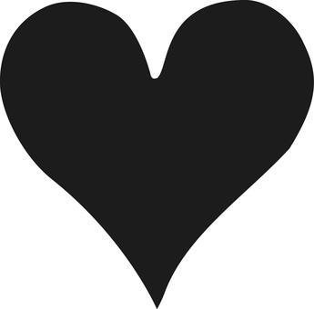Heart black