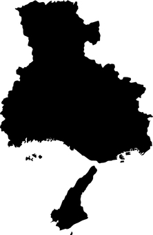 Hyogo Prefecture _ Silhouette _ black