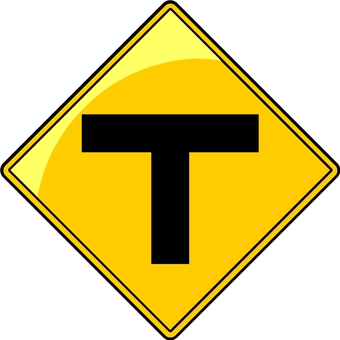 T type intersection