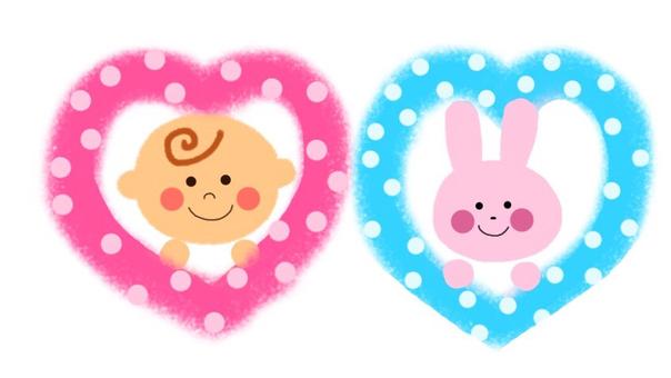 Babies and rabbits