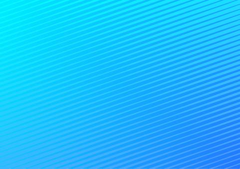 青色の斜線シンプル抽象背景素材