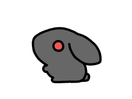 Rabbit black