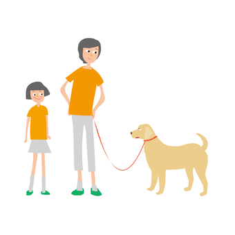 Family Parents and Dogs 1