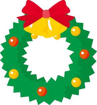 Xmas Christmas wreath