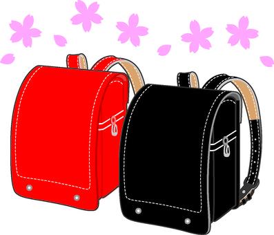 Spring school bag