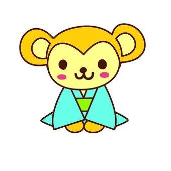 Monkey's greetings (1)