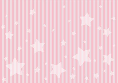 Starsy background on pink shimashima