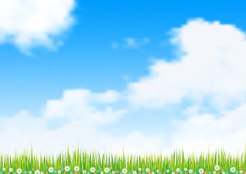 하늘과 초원