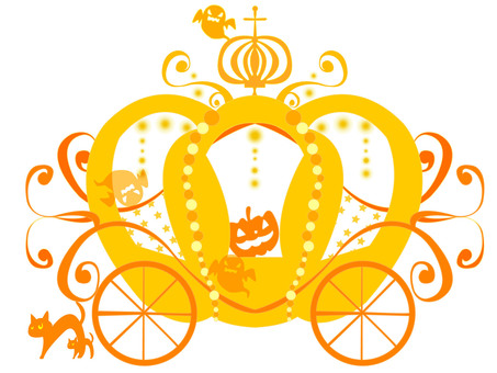 Pumpkin carriage (Orange)